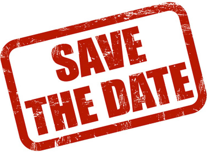 Save the Date….!!! 7 & 8 Juillet 2018
